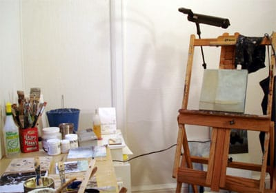 where I paint