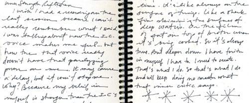 journaling, journaling, journaling