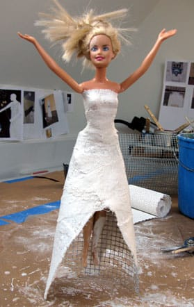 encaustic barbie?!