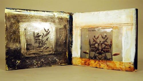 encausticamp preview: me- a book of images + wax
