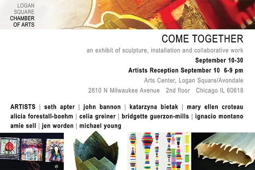 Come Together exhibit at the Arts Center in Logan Square