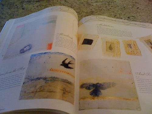 somerset workshop: experiments with encaustic