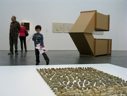 Fingerpainting the Moon: art museums and cube art