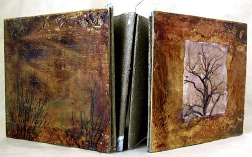 Mixed Media Artist Book workshop