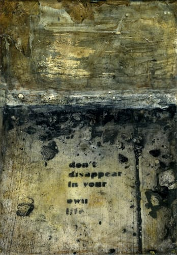 Urban Dialogue: Don't Disappear