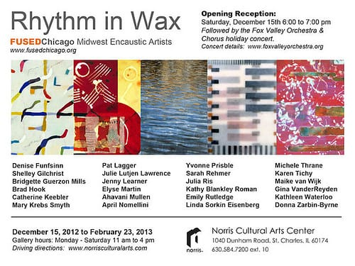 Rhythm in Wax, FUSEDChicago exhibit