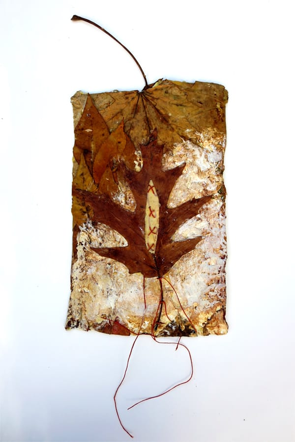 stitched-leaf