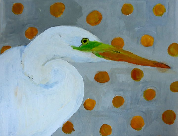 Day 12: Great White Egret
