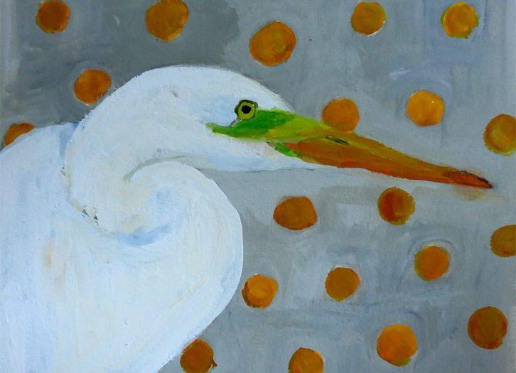 Day 12: Great White Egret