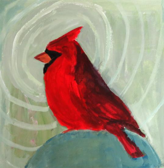 Day 22: Sitting Cardinal