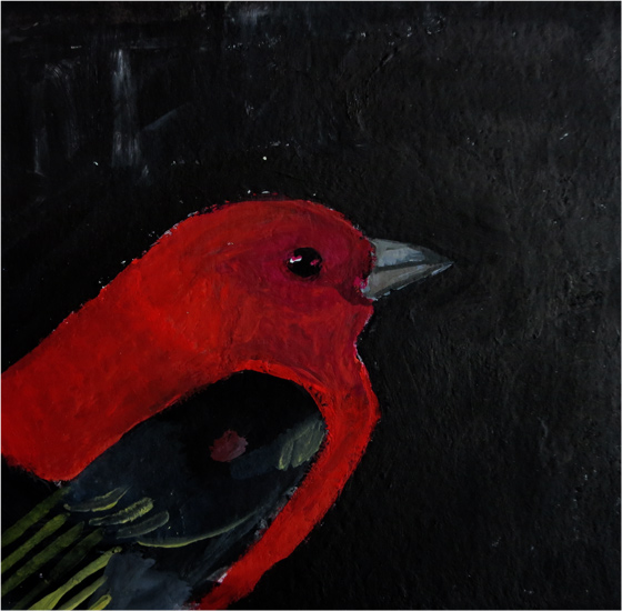 Day 57: Scarlet Tanager