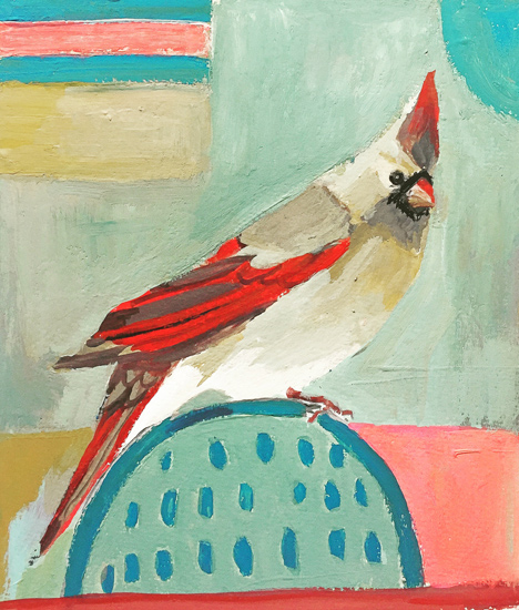 Day 16: Female Cardinal