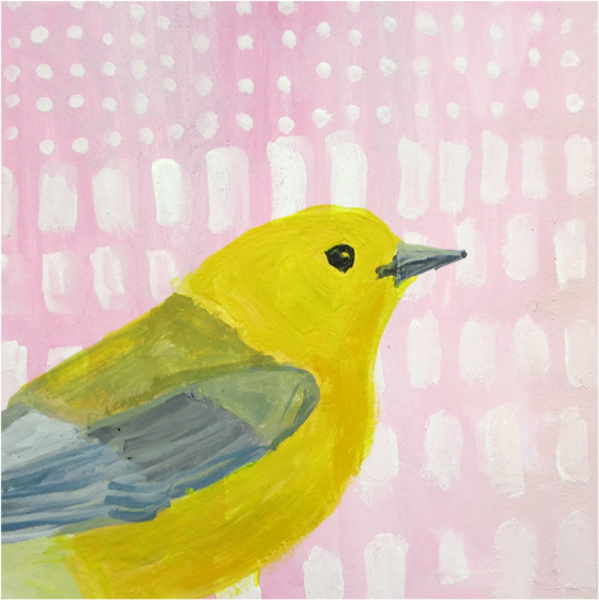 Day 34: Prothonatary warbler