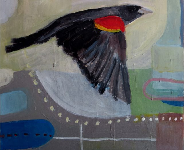 Day 44: Flight of the Red-winged Blackbird