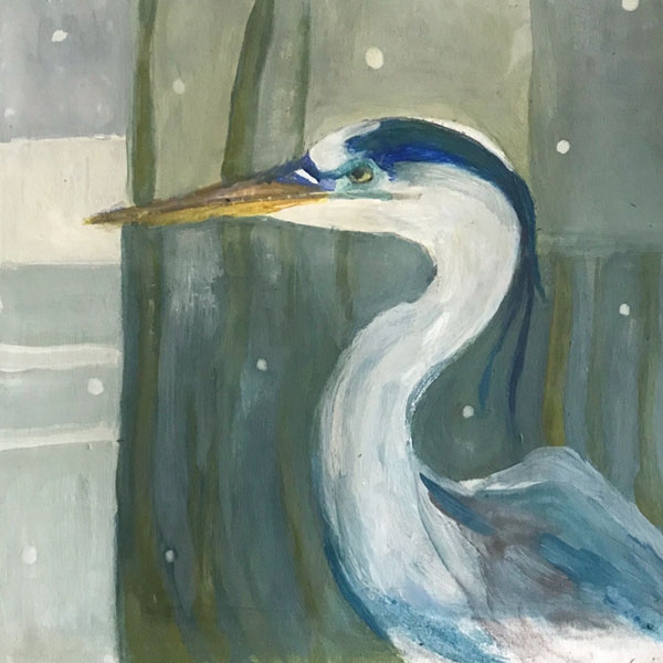 Day 35: Great Blue Heron