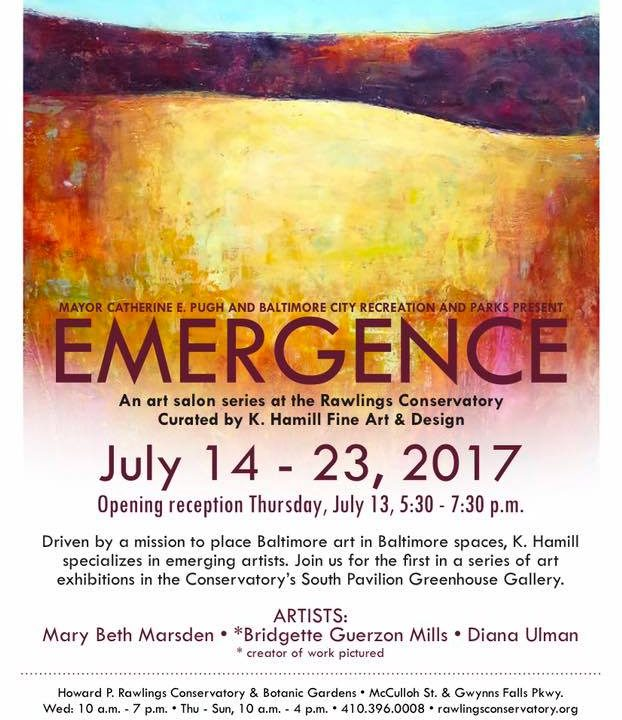 Emergence: exhibit at the Rawlings Conservatory