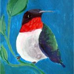 No 94: Red-throated Hummingbird