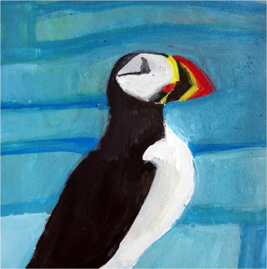 No. 66: North Atlantic Puffin