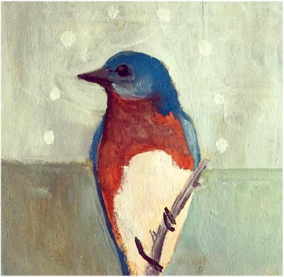 No. 54: Eastern Bluebird