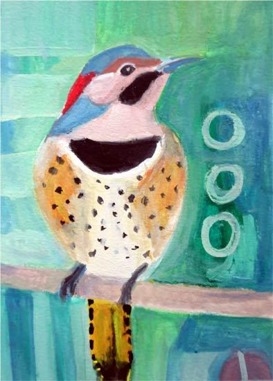 No  61: Northern Flicker | 100 Birds
