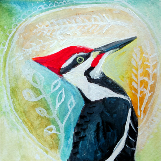No 85: Pileated Woodpecker