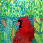 No. 87: Cardinal In the Green