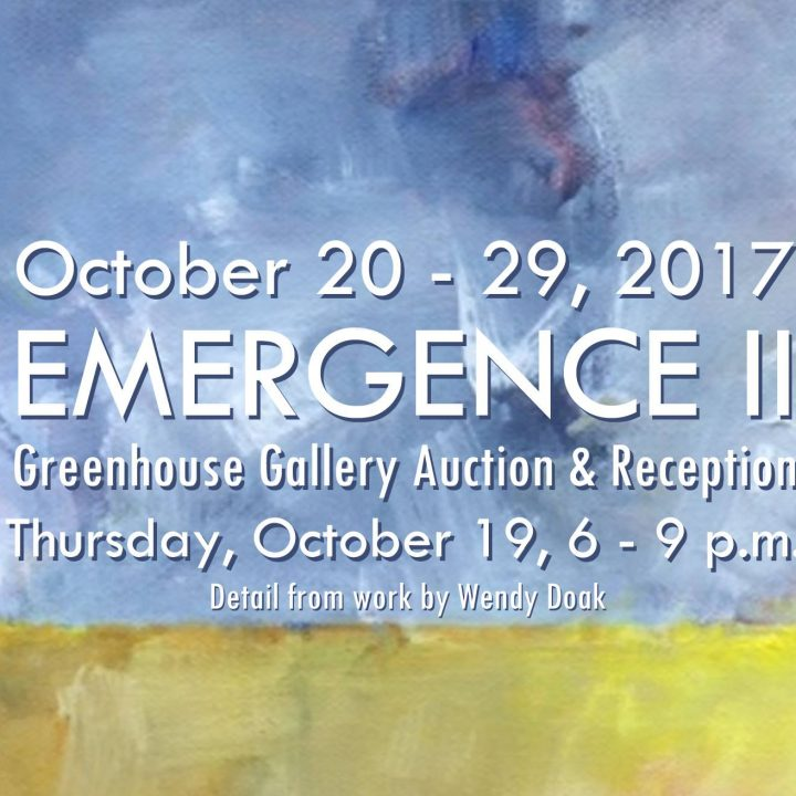 Emergence II: Greenhouse Gallery exhibit at Rawlings Conservatory