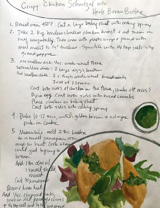 week 14: chicken schnitzel