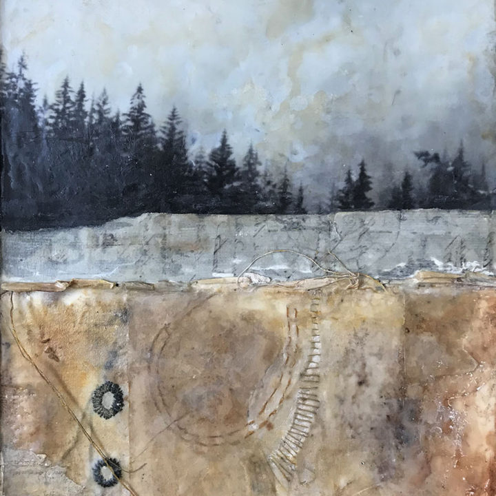 Deeply Rooted and my symbolic landscapes